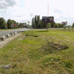 Рекламный щит под баннер Урожайная - Моршанское шоссе