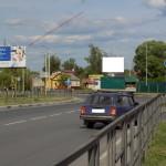 Наружная реклама в Тамбове (поворот на Донское)